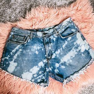 Lucky brand custom jean shorts size 10